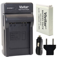 NB-6L Battery and Charger for Canon PowerShot SX530 HS SX540 HS SX610 HS SX710HS