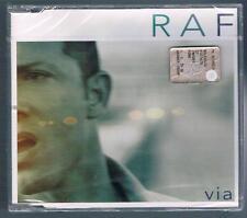 RAF VIA CD SINGOLO SINGLE cds SIGILLATO!!!