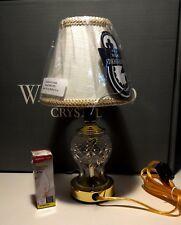 NEW WATERFORD CRYSTAL SULLIVAN ELECTRIC MINI LAMP w/tag ~IN ORIGINAL BOX