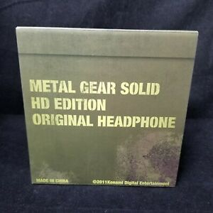 Metal Gear Solid HD Edition Original Headphone BRAND NEW