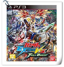 PS3 GUNDAM EXTREME VS. FULL BOOST JAPANESE SONY Playstation Action Namco Bandai