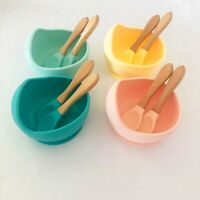 Silicone Suction bowl, Baby & Toddler, Bowl & PLUS 2 Spoons Set