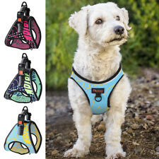 Fashion Breathable Air Mesh Puppy Pet Dog Harness Reflective Vest French Bulldog