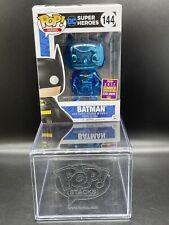 Batman Blue Chrome #144 Funko Pop! 2017 Summer Convention Exclusive Sticker RARE