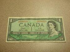 1954 - Canada $1 bill - circulated - Canadian dollar - CN0299528