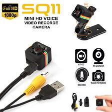 SQ11 Mini Secret Nanny Camera Wireless Security DVR HD 1080P Mini Car Dash Cam