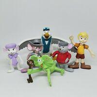 Vintage Rescuers Down Under Mini PVC Bendable Figure Lot Applause Bendy Disney