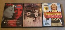 Talk To Her, My Beautiful Laundrette & Berlinguer I Love You Dvd