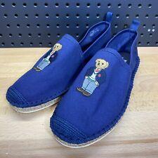 Polo Ralph Lauren Polo Bear Espadrille Barron SH-CSL Loafers Slip On Shoes 9.5