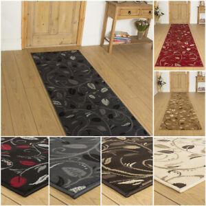 runrug Extra Long Hallway Carpet Runner Rug Heavy Duty Washable Kitchen Scroll