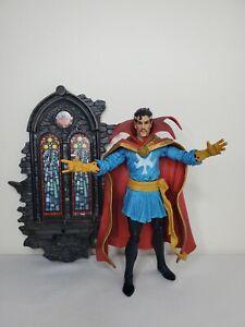 """Marvel Diamond Select Legends 7"""" Dr. Strange Sorcerer Supreme Avengers Figure"""