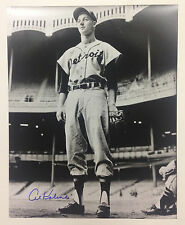 MLB Hall of Fame RF Al Kaline Signed 16X20 Photo w/ COA- Detroit Tigers