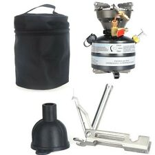 Portable Outdoor Gasoline Stove BBQ Camping Hiking Picnic Burner Cooking Supply