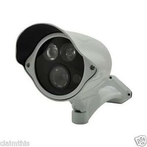 Vonnic VCB271W 480 TV Lines MAX Resolution Outdoor Night Vision Bullet - White
