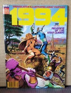 1994 no.24 April 1982 illustrated adult fantasy WARREN magazine