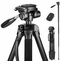 Victiv 72-inch Camera Tripod Aluminum Monopod T72 Max. Height 182 cm -