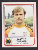 Panini - Football 84 - # 139 Wayne Turner - Luton