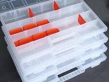 Profi Sichtbox PP Größe 3 blau NEU 240x145x125mm Stapelbox Sicht-Lagerbox Box