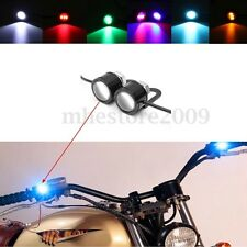 2pcs Motorcycle Car ATV LED Strobe Flash Lamp DRL HeadLights License Plate Lamp