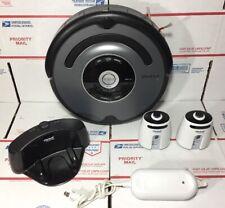 iRobot ROOMBA 560 Robotic Vacuum Cleaner +NEW BATTERY & BRUSHES+Walls - WARRANTY