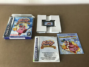 Kirby & The Amazing Mirror Gameboy Advance Game + Instructions C30