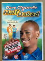 Half Baked DVD 1998 Dave Chappelle Cult Marijuana / Weed / Stoner Comedy