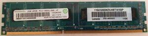 RAMAXEL 2GB Module DDR3 PC3 10600 (RMR1870EF48E8W-1333)