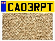CA03 RPT CARPET FITTING FITTER RUG SHOP COMPANY VAN STORE PRIVATE NUMBER PLATE✔️