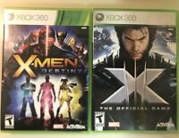Xbox 360 X-Men Lot - X-Men Destiny & X-Men III 3 The Official Game Lot Bundle