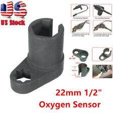"1/2"" Oxygen Sensor Socket Wrench Offset Removal Flare Nut Tool 6 Point Socket"