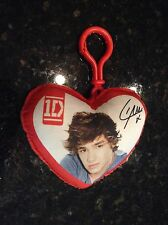 "1D One Direction ""Liam"" Red Heart Plush Keychain"