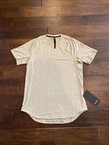 Lululemon Drysense Short Sleeve Shirt Size Medium Heathered Rosemary Green NWT