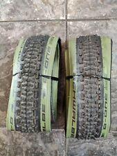 Pair Schwalbe G-One Ultrabite 700x38 (40x622) Olive LTD EDITION Gravel Tyres