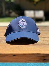 Vancouver Whitecaps adidas blue MLS cap Youth OneSize