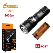 FITORCH P26R 3600 lumens USB rechargeable CREE LED torch/power bank