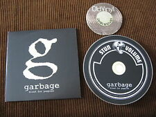 1 Track Maxi Promo CD Garbage Blood for Poppies 2012 Europe