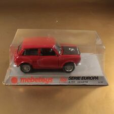 [OH3-16] MATTEL MEBETOYS A/58 A58 I 1° SERIE EUROPA A112 A 112 ABARTH NEW