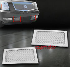 07-13 CADILLAC ESCALADE ESV EXT BUMPER LOWER STAINLESS STEEL MESH GRILLE INSERT
