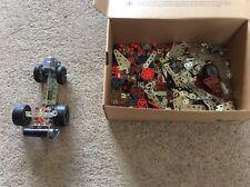 Lot pièces meccano avec moteur jeux de construction