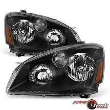 Pair of 2 Left Right Halogen Headlights Headlamps Set for a 05-06 Nissan Altima