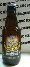 GRIMBERGEN BLANCHE 25 cl 6,0% BEER FULL OLD BOTTLE VIEJA BOTELLA CERVEZA LLENA