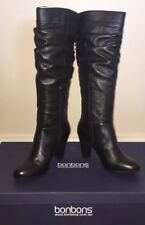 Brand New Black Knee High Boots Bonbons Jassi