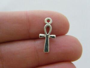 Bulk 50 CCB Silver Car Jewellery Charms 22x19mm
