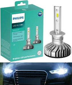Philips Ultinon LED Kit White 6000K H1 Fog Light Replacement Upgrade Lamp OE