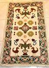 Arraiolos rugs embroidered wool yarn origin Portugal