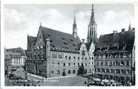 uralte AK, Ulm an der Donau, Rathaus, Marktplatz