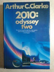 2010: Odyssey Two - Arthur C. Clarke - Hardcover Sci-Fi Novel With Dust Jacket