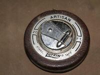 Vintage Lufkin Chrome Clad Tree Diameter Tape 20 FT FREE SHIPPING