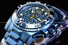 Invicta Men's 50mm Excursion Triple Blue Label Polished chronograph Swiss Watch