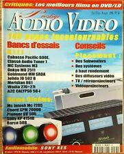 PRESTIGE AUDIO VIDEO N°34 CABASSE MC SYSTEMS JOLIDA MERIDIAN MC INTOSH